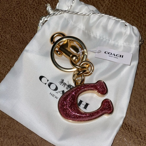 Coach Accessories - Coach SIGNATURE BAG CHARM (COACH 1618)